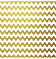 Gold glitter wavy stripes abstract vector image