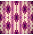 pink diamond seamless pattern vector image vector image