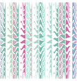 six color chalky pastel triangles pattern texture vector image vector image