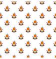 small ship pattern seamless vector image