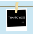 Thank you1 vector image vector image