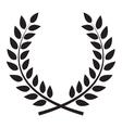 award laurel wreath winner leaf label symbol