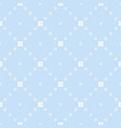 blue geometric texture subtle seamless pattern vector image vector image