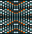 geometric colorful seamless pattern vector image