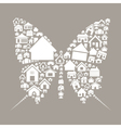 House the butterfly vector | Price: 1 Credit (USD $1)