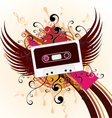 music in the sky vector image vector image