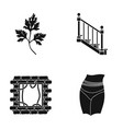 occupation nature ecology and other web icon in vector image vector image