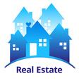 RealEstateBlue vector image vector image