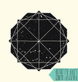 simple abstract geometric figure with circle
