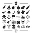 picnic history adventure and other web icon in vector image