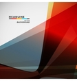 Abstract bright color on a light background vector image vector image