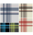 fabric plaid textile vector image