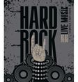 hard rock live vector image