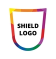 shield logo vector image