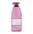 soap bottle isolated icon vector image