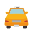 taxi cab car vector image