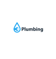 Water drop and wrench plumbing icon and logo vector image vector image