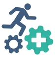 Treatment Process Icon vector image