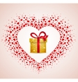 gift from the heart vector image