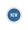 new item badge outline icon vector image