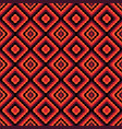 red abstract geometric seamless pattern vector image
