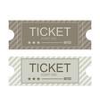 tickets icon flat design vector image vector image