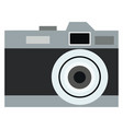 an old black camera or color vector image vector image