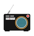 colorful old stereo graphic vector image