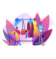fashion house concept vector image