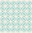 geometric floral ornamental pattern seamless vector image