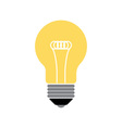 Lightbulb Isolated icon pictogram vector image vector image