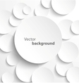 Paper circles with drop shadows vector | Price: 1 Credit (USD $1)