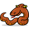 snake animal cartoon vector image vector image