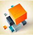 top view position geometric background vector image vector image