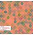 Abstract Seamless Dots Pattern vector image vector image
