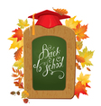 back to school board 380 vector image vector image
