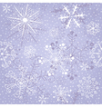 Christmas violet repeating pattern vector image vector image