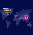 coronavirus virus spread statistics mortality vector image vector image