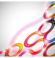 Curls abstract background in eps10 format vector image vector image