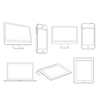 Digital devices vector | Price: 1 Credit (USD $1)