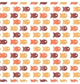 fish seamless pattern for fabric textile design vector image vector image