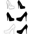 high-heels-1 vector image vector image