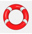 lifeline icon cartoon style vector image vector image