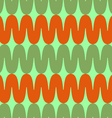 Pattern colored waves vector image