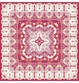 Red colored handkerchief vector image vector image