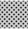 seamless pattern black white buttons vector image vector image