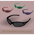 sport sunglassess eps10 vector image vector image