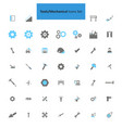tool and mechanical icons set vector image