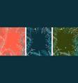 winter pine tree background frame design vector image