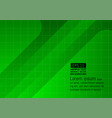 green template abstract background vector image